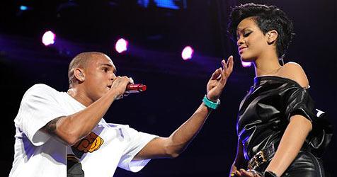Chris Brown und Rihanna nahmen Duett auf