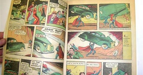 """1. """"Superman""""-Comic für 317.000 Dollar versteigert"""