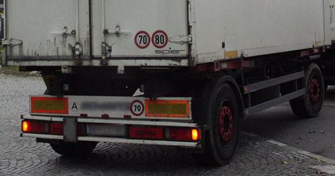 Polizei schnappt Lkw-Diebe auf A1 - Lenker verhaftet (Bild: ANDI SCHIEL)