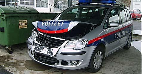 Polizei feuert bei Verfolgungsjagd Schüsse ab (Bild: Stadtpolizei Baden)