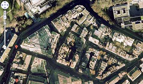 Altmetall mit Hilfe von Google Earth geklaut