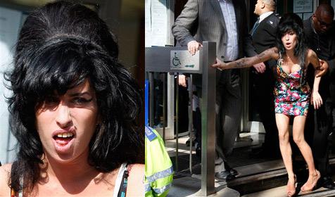 Amy Winehouse: Schräger Auftritt vor Gericht