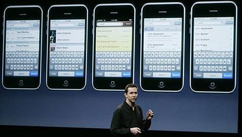 Apple präsentiert neue iPhone-Software