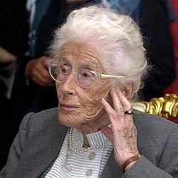 Autorin Gertrud Fussenegger 96-jährig verstorben (Bild: APA/Robert Jaeger)