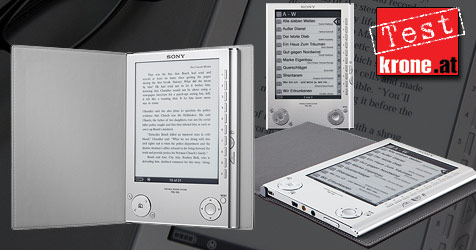 Sonys E-Book-Reader im krone.at-Test