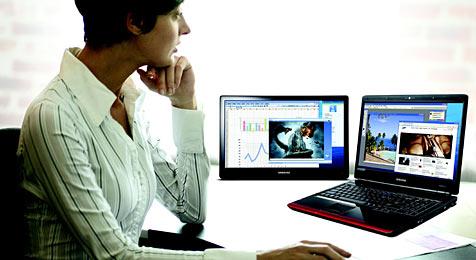 Zweitbildschirm für Notebook-Besitzer (Bild: Samsung)