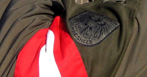 Soldat bei Schießübung in Allensteig verletzt (Bild: apa/EDGAR SCHUETZ)