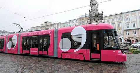 Straßenbahn überwindet erstmals die Stadtgrenze
