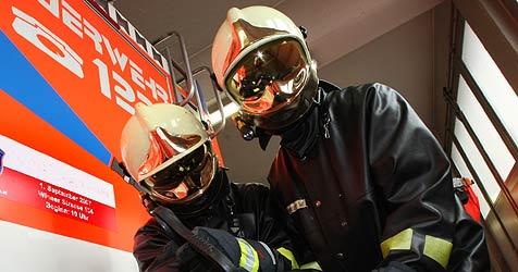 """""""Feuerwehr zum Angreifen"""" bei Schau im Stift Geras (Bild: Chris Koller)"""