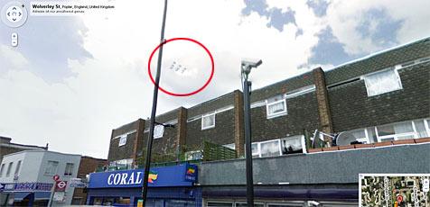 "Angeblich UFOs mittels ""Street View"" entdeckt"