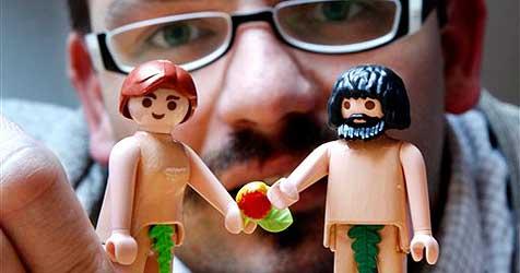 Playmobil geht gegen Bibelprojekt von Pastor vor (Bild: AP)