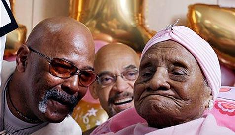 Älteste Frau der Welt feiert 115. Geburtstag