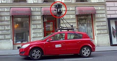 """Google Street View"" lichtet Landeshauptstadt ab (Bild: Herbert Ennsmann)"