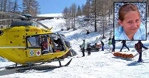 Skiopfer Sandra (10) ist erstickt (Bild: Franz Crepaz)