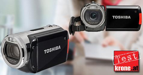 Camcorder für Youtubber: Toshibas Camileo H20