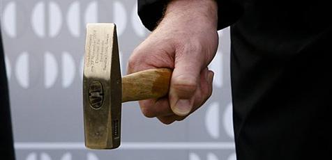 Einbrecher rückten mit Hammer und Meißel an