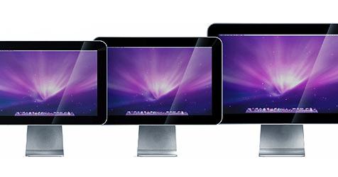 Drei günstige Displays speziell für Apple-Macs (Bild: www.cinemaview.com)