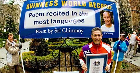 US-Rekordjäger schafft 100. Guinness-Eintrag (Bild: dpa/Jowan Gauthier/A9999 Db Jowan Gauthier)