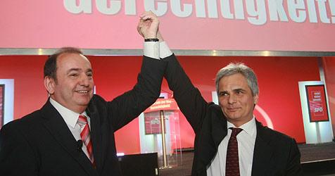 40. Landesparteitag in Linz - Haider wiedergewählt (Bild: APA/Rubra)