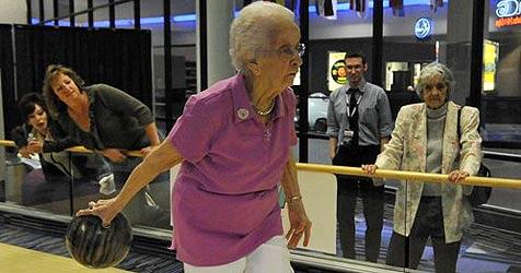 100-Jährige stellt Rekord bei US-Meisterschaft auf