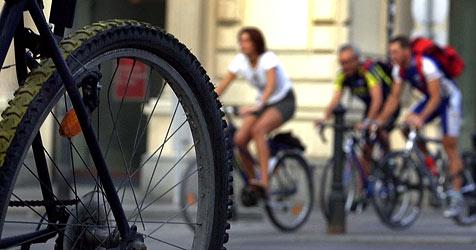 Salzburger gehören zu den fleißigsten Radfahrern im Land (Bild: APA)