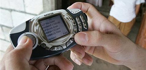 Zu zweit 217.000 SMS in einem Monat verschickt