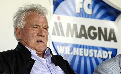 Stronach tritt als Präsident von Wr. Neustadt zurück (Bild: APA-FOTO: GEORG HOCHMUTH)