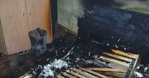 Wohnungsbrand in Wiener Neustadt (Bild: FF Wiener Neustadt)