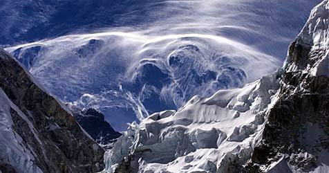 Bald Handy-Empfang auf dem Mount Everest