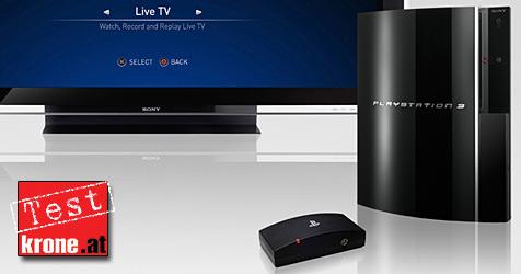 """Sonys """"PlayTV"""" bringt Fernsehen auf die Konsole (Bild: Sony)"""