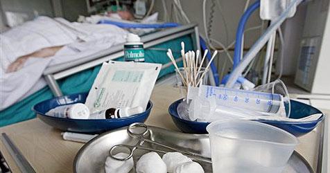 Oberösterreicher mit Neuer Grippe auf Intensivstation (Bild: AP Images)