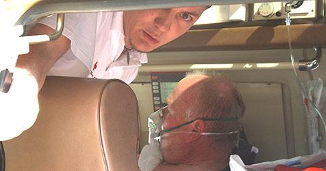 Niedergestochener Polizist aus Spital entlassen (Bild: Christoph Gantner)