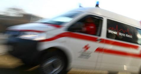 Zweijähriges Mädel von Pkw erfasst und schwer verletzt (Bild: WRK/M. Hechenberger)