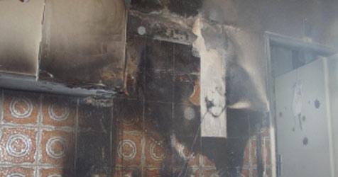 80-Jährige bei Zimmerbrand gestorben (Bild: Feuerwehrkommando neunkirchen)