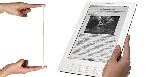 Amazon stellt E-Book-Reader Kindle DX vor (Bild: Amazon)