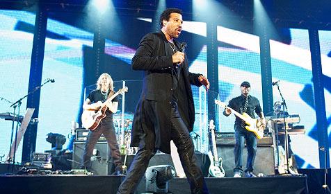 Lionel Richie in der Wiener Stadthalle (Bild: Andreas Graf)