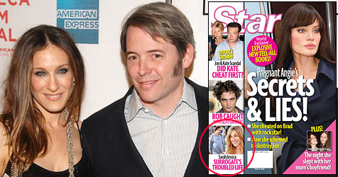 Magazin: SJPs Leihmutter ist bisexuelle Rockerin (Bild: AP Photo, Cover Star Magazine)
