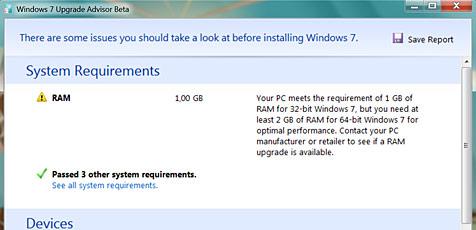Gratis-Tool prüft PC auf Windows-7-Tauglichkeit