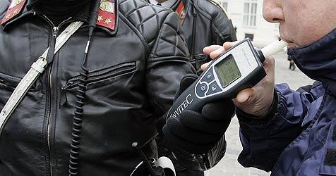 Betrunkener fährt in Linz gegen Mauer (Bild: Klemens Groh)
