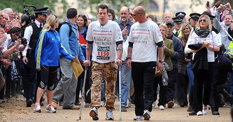 """""""Totgesagter"""" Brite läuft Marathon in 13 Tagen"""