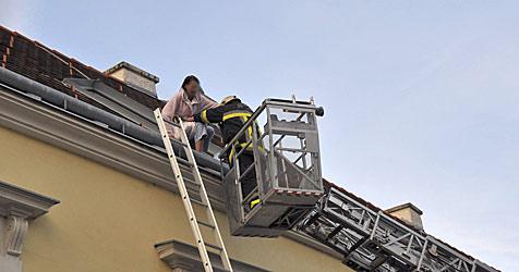 Wohnungsbrand - vier Menschen gerettet (Bild: Schneider FF Baden-Stadt)