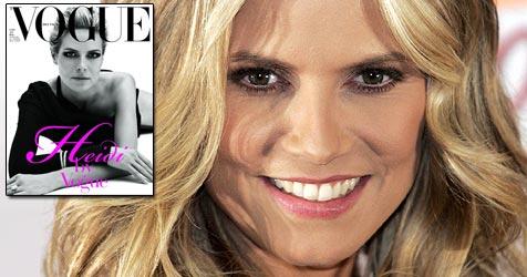 """""""Vogue"""" widmet Heidi Klum eine ganze Ausgabe (Bild: Vogue/Francesco Carrozzini, EPA)"""