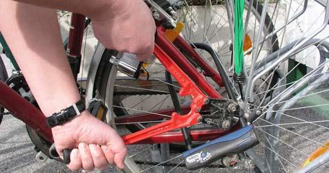 Hundert Anzeigen pro Woche wegen Fahrraddiebstahls (Bild: APA/MARTIN HIRSCH)