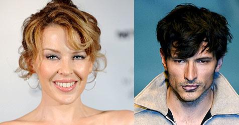 Kylie Minogue ist verliebt wie ein Teenager (Bild: EPA)