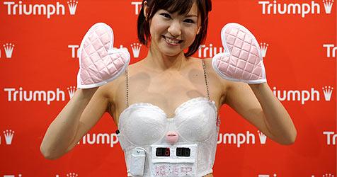 """Japan: Mit """"Countdown-BH"""" auf Männerjagd"""