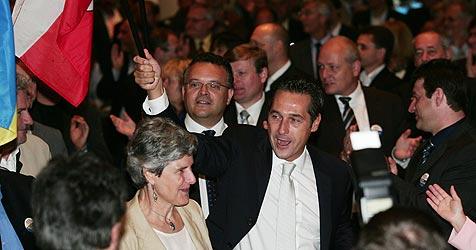 FPÖ-Parteitag in Linz - Strache im Amt bestätigt (Bild: rubra)