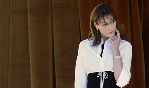 Carla Bruni bald in Woody-Allen-Film zu bewundern
