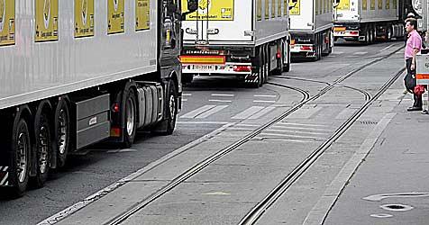 Hartnäckige Proteste stoppen Betonmischwerk (Bild: APA/Georg Hochmuth)
