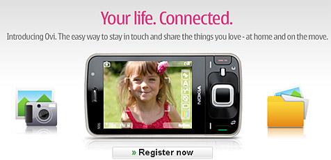 Nokia nimmt Rennen gegen Apple auf (Bild: Ovi.com)