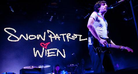 Snow Patrol begeisterten mit rockiger Show (Bild: Andreas Graf)